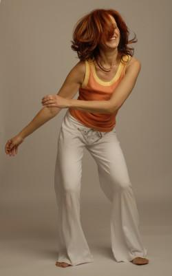 Eva Guthann tanzt