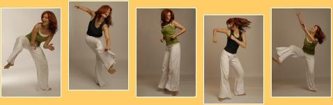 5 Tanzfotos von Eva Guthann